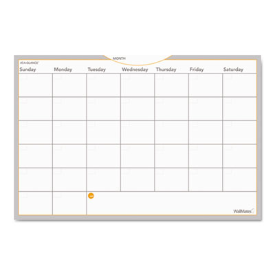 AT-A-GLANCE AW602028 WallMates Self-Adhesive Dry Erase Planning Surfaces