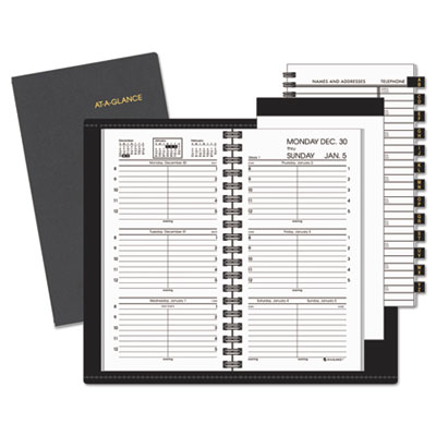 AT-A-GLANCE 7000805 Compact Weekly Appointment Book