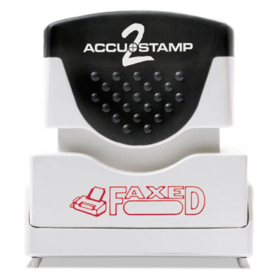 ACCUSTAMP2 035583 Pre-Inked Shutter Stamp with Microban