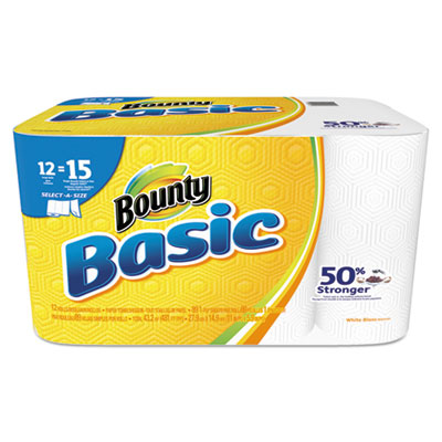 Proctor &  Gamble 92972 Bounty Basic Select-a-Size Paper Towels