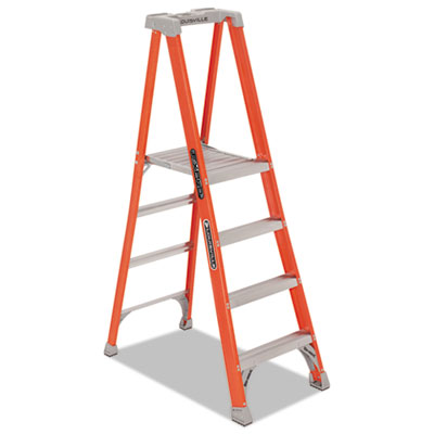 Louisville FXP1704BX Ladder Fiberglass Pro Platform Step Ladder