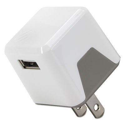 Scosche USBH121WT superCUBE Flip Wall Charger