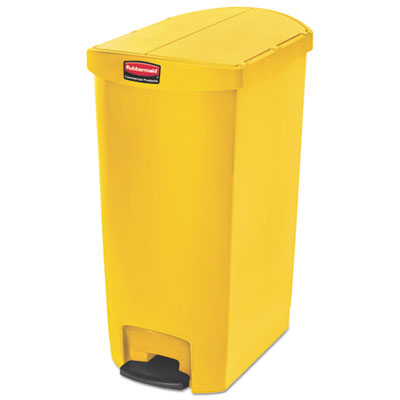 Rubbermaid 1883578 Commercial Slim Jim Resin Step-On Container