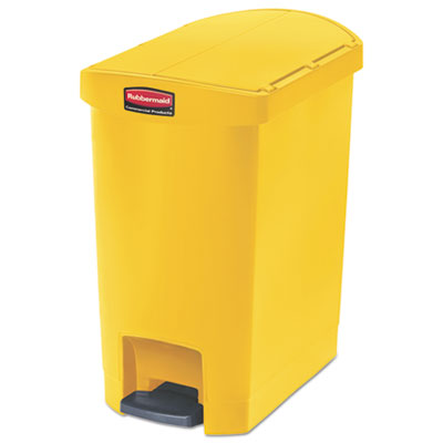 Rubbermaid 1883574 Commercial Slim Jim Resin Step-On Container