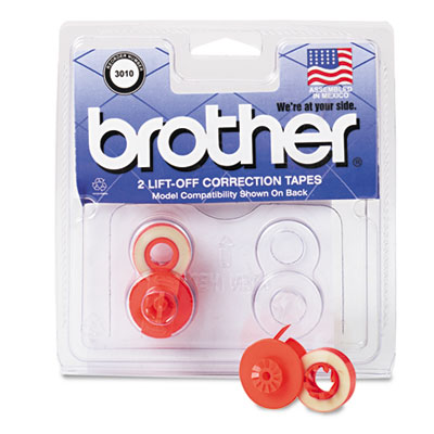 Brother 3010 Lift-Off Correction Typewriter Tape