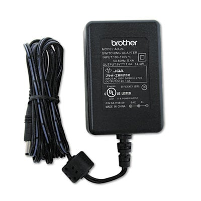 Brother AD24 AC Adapter For P-Touch Label Makers