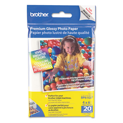 Brother BP61GLP Innobella Premium Glossy Photo Paper