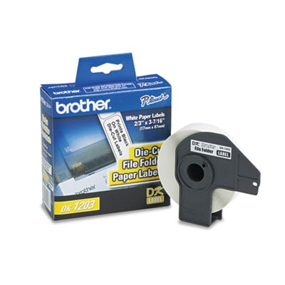 Brother DK1203 Labels