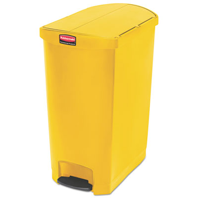 Rubbermaid 1883580 Commercial Slim Jim Resin Step-On Container