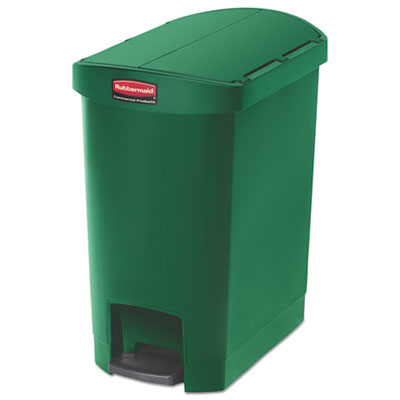 Rubbermaid 1883583 Commercial Slim Jim Resin Step-On Container