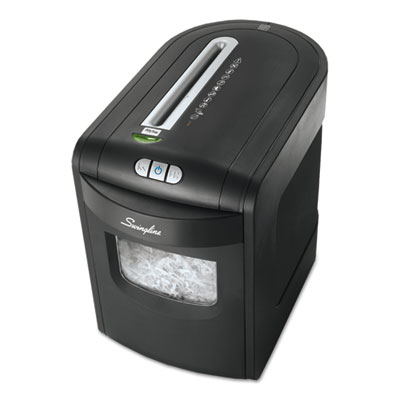 Swingline 1757392 EX10-06 Medium-Duty Cross-Cut Shredder