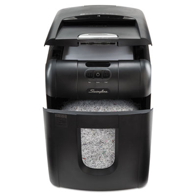 Swingline 1758571 Stack-and-Shred 100M Micro-Cut Shredder