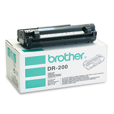 Brother DR200 Black Drum Unit