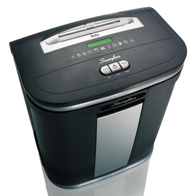 Swingline 1758495 SX16-08 Cross-Cut Shredder