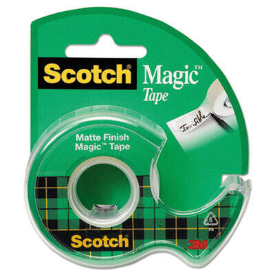 3M 105 Scotch Magic Tape in Refillable Handheld Dispenser