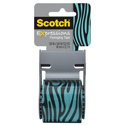 Scotch 141PRTD14 Expressions Packaging Tape