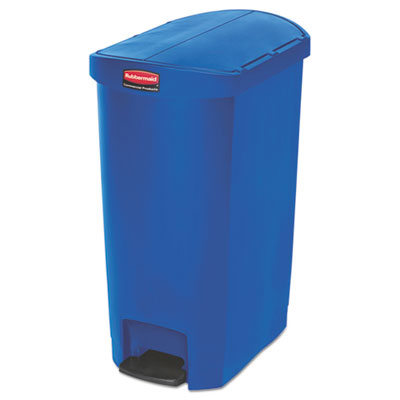 Rubbermaid 1883594 Commercial Slim Jim Resin Step-On Container