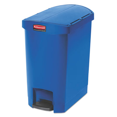 Rubbermaid 1883592 Commercial Slim Jim Resin Step-On Container