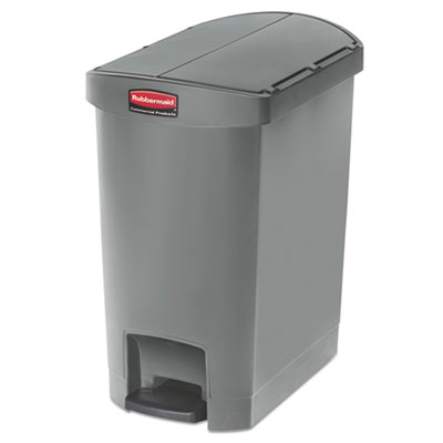 Rubbermaid 1883601 Commercial Slim Jim Resin Step-On Container