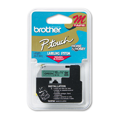 Brother M731 Labels