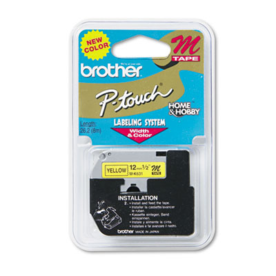 Brother MK631 Labels