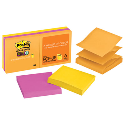 Post-it R3306SSUC Pop-up Notes Super Sticky Pop-up 3 x 3 Note Refill