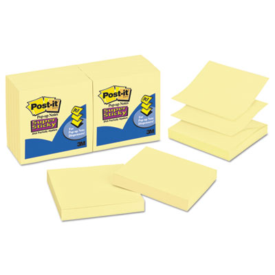 Post-it R33012SSCY Pop-up Notes Super Sticky Pop-up 3 x 3 Note Refill