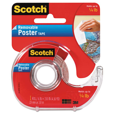 Scotch 109 Wallsaver Removable Poster Tape
