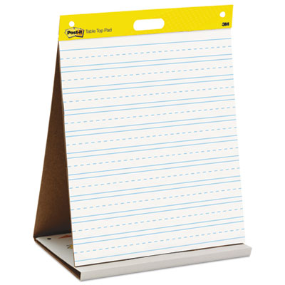 Post-it 563PRL Easel Pads Self-Stick Tabletop Easel Pad