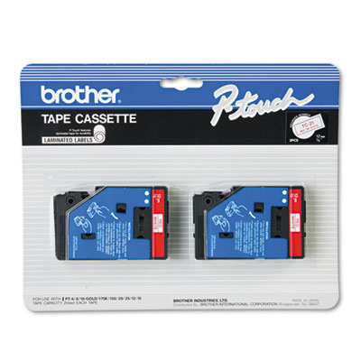 Brother TC21 Labels