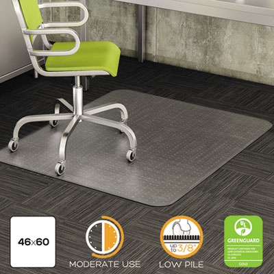 Deflecto Cm13443f Duramat Moderate Use Chair Mat For Low