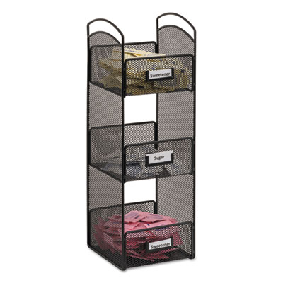 Safco 3290BL Onyx Breakroom Organizers