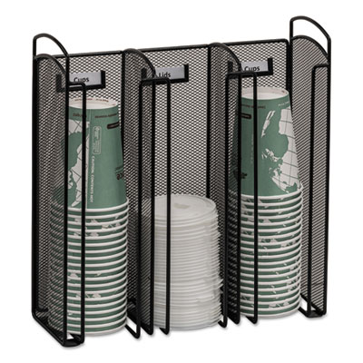 Safco 3292BL Onyx Breakroom Organizers
