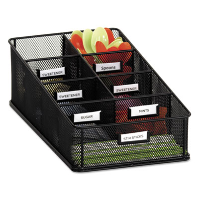 Safco 3291BL Onyx Breakroom Organizers