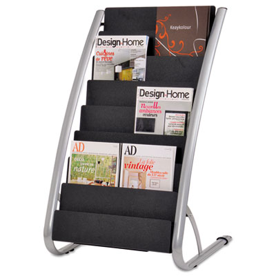 Alba DDEXPO8 Literature Floor Display Rack