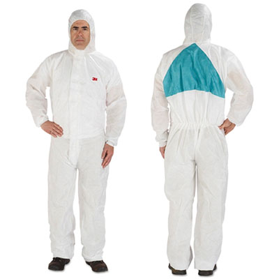 3M 4520BLKXL Disposable Protective Coveralls