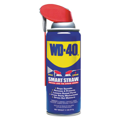 WD-40 490040EA Smart Straw Spray Lubricant