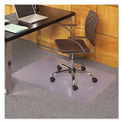 ES Robbins 121821 EverLife Chair Mats for Flat to Low Pile Carpet
