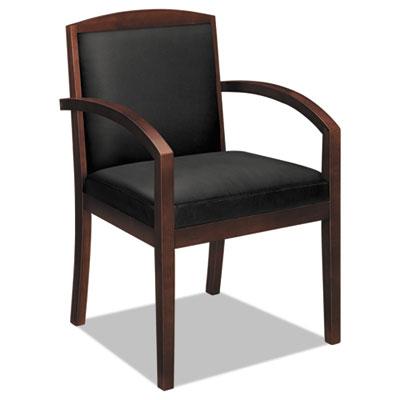 basyx vl853nsb11 hon vl850 series leather guest chair