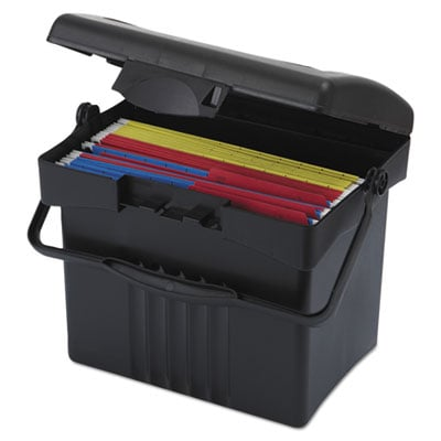 Storex 61502U01C File Box with Organizer