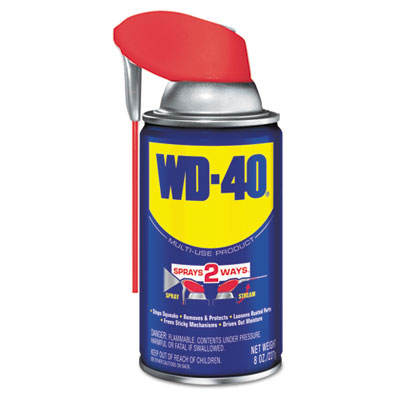 WD-40 490026 Smart Straw Spray Lubricant
