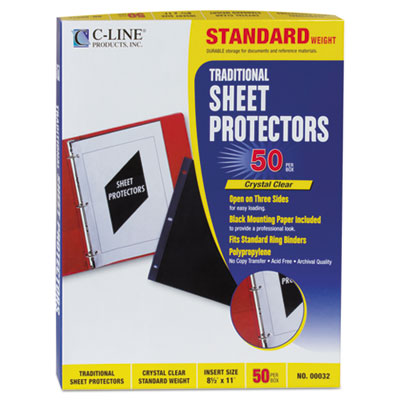 C-Line 00032 Traditional Sheet Protector