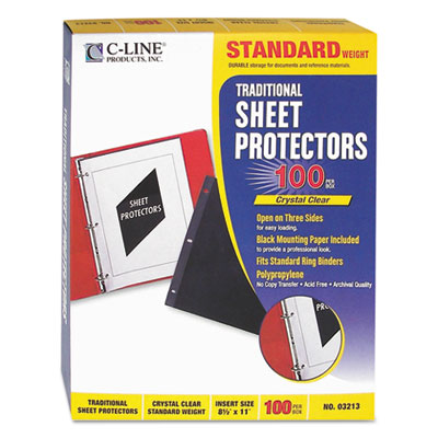 C-Line 03213 Traditional Sheet Protector