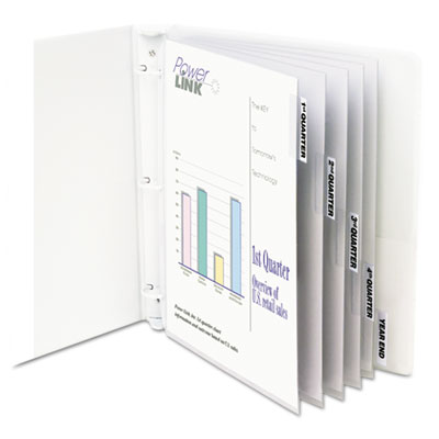 C-Line 05557 Sheet Protector with Index Tabs