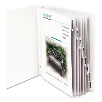 C-Line 05587 Sheet Protector with Index Tabs