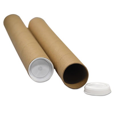 General Supply RRTW315 United Facility Supply Round Mailing Tubes
