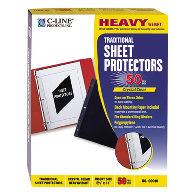 C-Line 00010 Traditional Sheet Protector