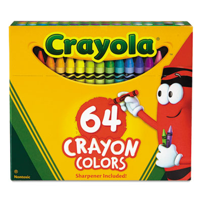 Binney & Smith 52064D Crayola Classic Color Pack Crayons