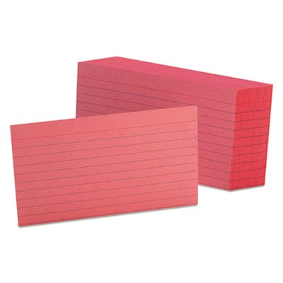 Oxford 7321CHE Index Cards