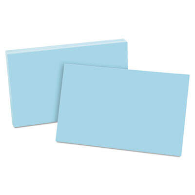 Oxford 7520BLU Index Cards